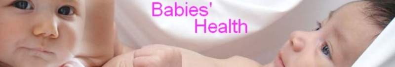 babies' health header graphic