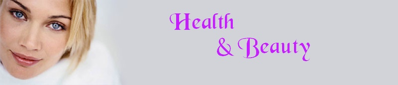 health and beauty header graphic