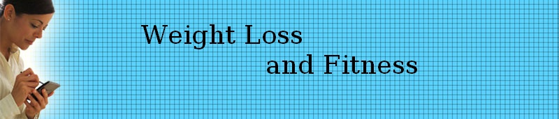 weight loss and fitness header graphic